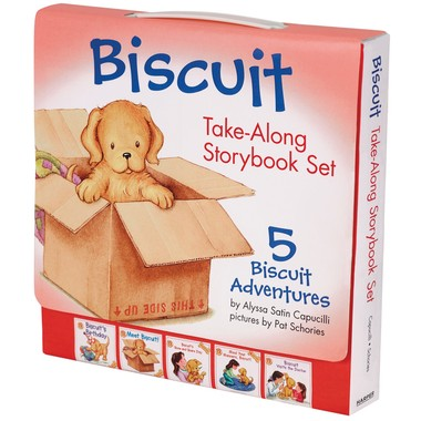 Biscuit Take-Along Storybook Set :5 Biscuit Adventures