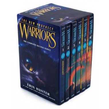 Warriors :The New Prophecy Box Set: Volumes 1 to 6