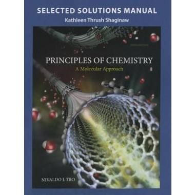selected solution manual for principles of chemistry a molecular rh popular com sg Molecular Weight of a Solution physical chemistry a molecular approach solution manual