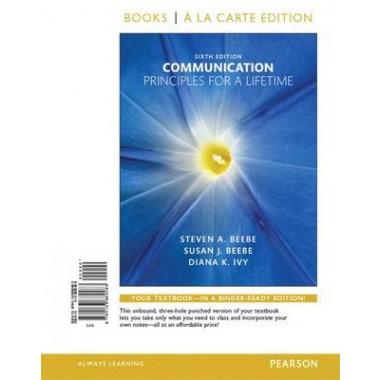 Communication :Principles for a Lifetime