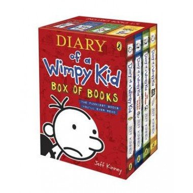 Diary of a wimpy kid box of books solutioingenieria