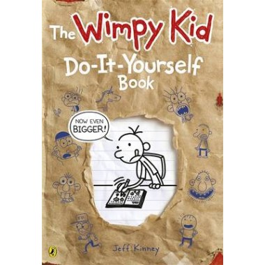 Diary of a wimpy kid do it yourself book new large format solutioingenieria Image collections
