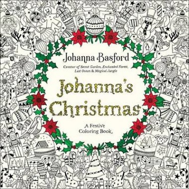 Johanna's Christmas :A Festive Coloring Book for Adults