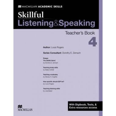 Skillful - Listening & Speaking - Level 4 Teacher Book + Digibook + Audio CD