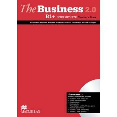 The Business 2.0 Intermediate Teacher's Book & Resource Disk B1+