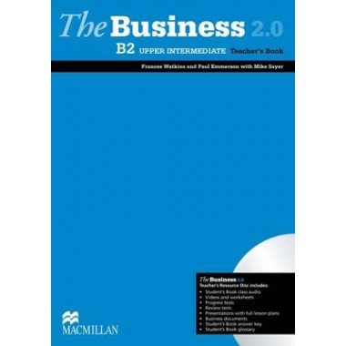The Business 2.0 Upper-intermediate Teacher's Book & Resource Disk