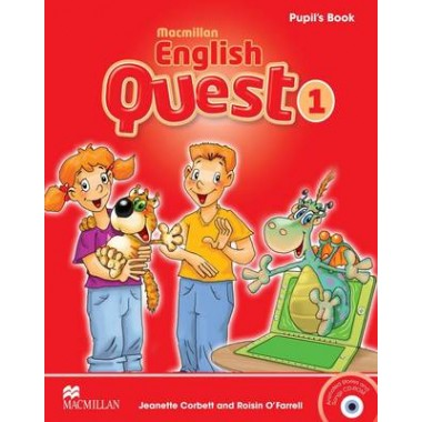 Macmillan English Quest Level 1 Pupil's Book Pack