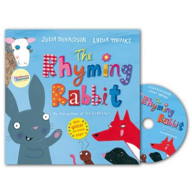 The Rhyming Rabbit Book and CD Pack