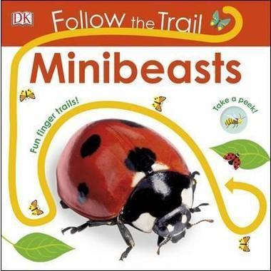 Follow the Trail Minibeasts :Take a Peek! Fun Finger Trails!