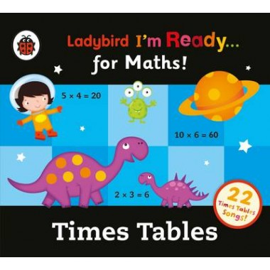 Ladybird Times Tables Audio Collection: I'm Ready for Maths