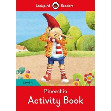 LB READERS L4: PINOCCHIO ACTIVITY BK