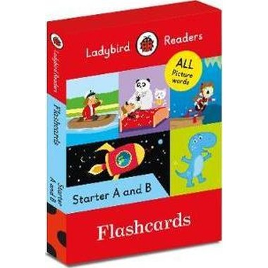 LADYBIRD READERS STARTER LEV FLASHCARDS