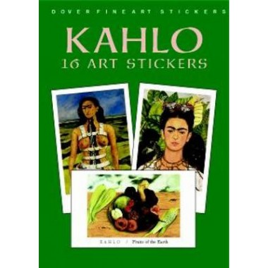 Kahlo :16 Art Stickers