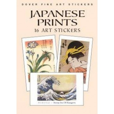Japanese Prints: 16 Art Stickers :16 Art Stickers
