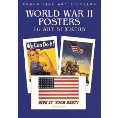 World War II Posters :16 Art Stickers