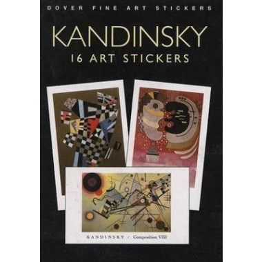Kandinsky :16 Art Stickers