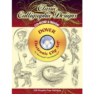 Classic Calligraphic Designs CD-ROM and Book