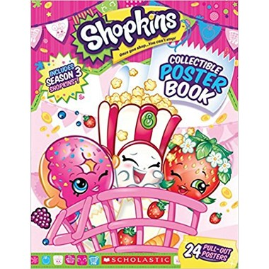 Shopkins: Collectible Poster Book