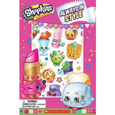 Shopkins Always in Style #1 with Stickers