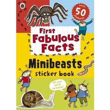 Ladybird First Fabulous Facts: Minibeasts Sticker Book