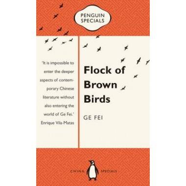 Flock of Brown Birds