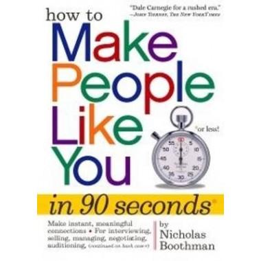 How to Make People Like You