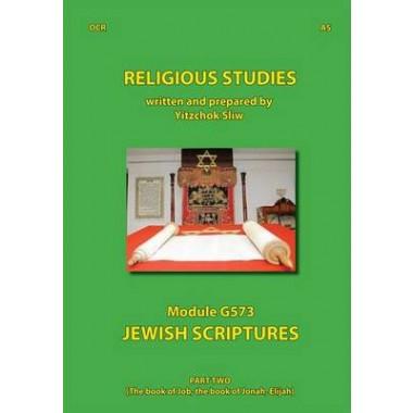Religious Studies Jewish Scriptures :Part 2