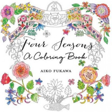 Four Seasons :A Coloring Book
