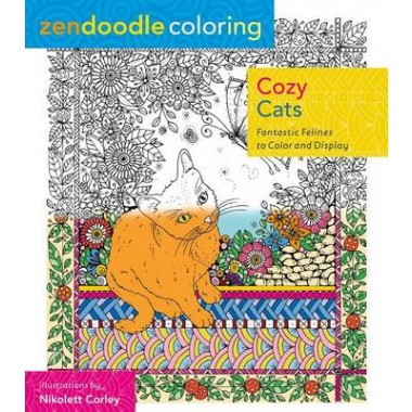 ZENDOODLE COLOURING: COZY CATS /P