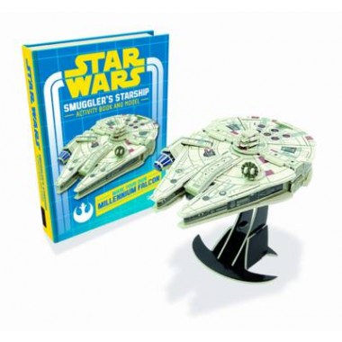 Star Wars: Smuggler's Starship :Activity Book and Model