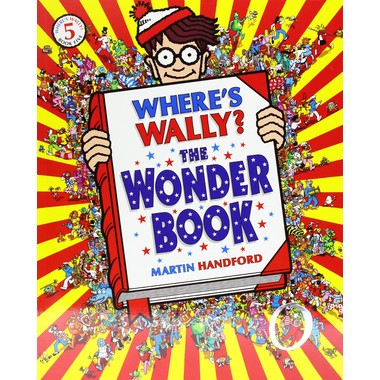 WHERE'S WALLY WONDER BOOK