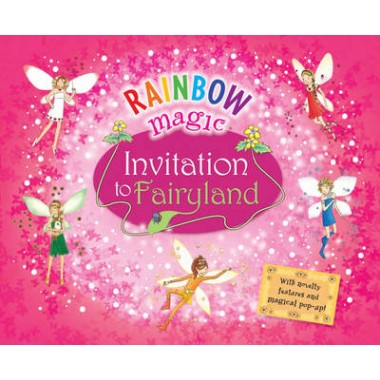 Rainbow Magic invitation to fairyland