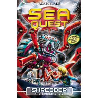 Sea Quest: Shredder the Spider Droid :Book 5