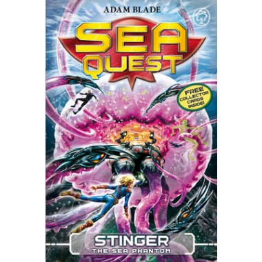 Sea Quest: Stinger the Sea Phantom :Book 6