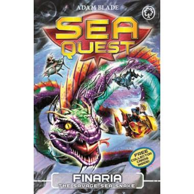 Sea Quest: Finaria the Savage Sea Snake :Book 11