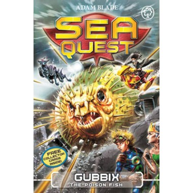 Sea Quest: Gubbix the Poison Fish :Book 16
