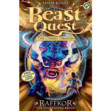 Beast Quest: Raffkor the Stampeding Brute :Series 14 Book 1
