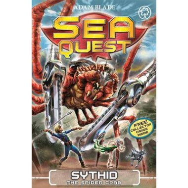 Sea Quest: Sythid the Spider Crab :Book 17