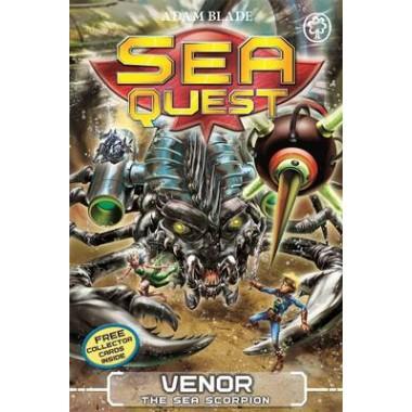 Sea Quest: Venor the Sea Scorpion :Book 19