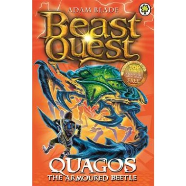 Beast Quest: Quagos the Armoured Beetle :Series 15 Book 4