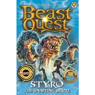 Beast Quest: Styro the Snapping Brute :Series 16 Book 1