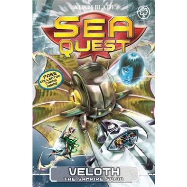 Sea Quest: Veloth the Vampire Squid :Book 25