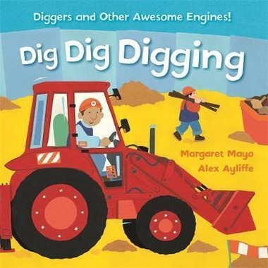AWESOME ENGINES: DIG DIG DIGGING PADDED