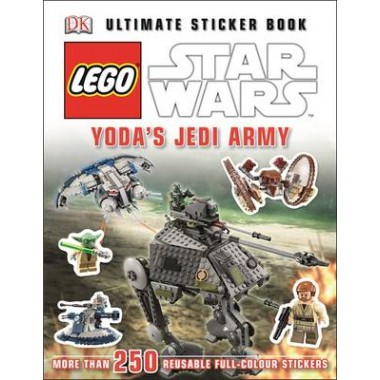 LEGO (R) Star Wars (TM) Yoda's Jedi Army Ultimate Sticker Book