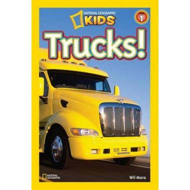National Geographic Kids Readers: Trucks