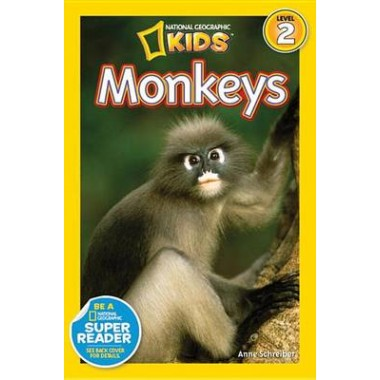 National Geographic Kids Readers: Monkeys