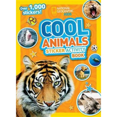 National Geographic Kids Cool Animals Sticker Activity Book :Over 1,000 Stickers!
