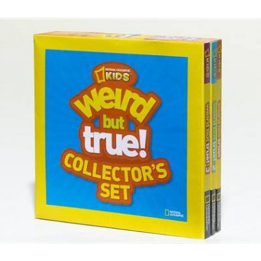 Weird But True Collectors Set :1,000+ Outrageous Facts and Eye-Popping Photos