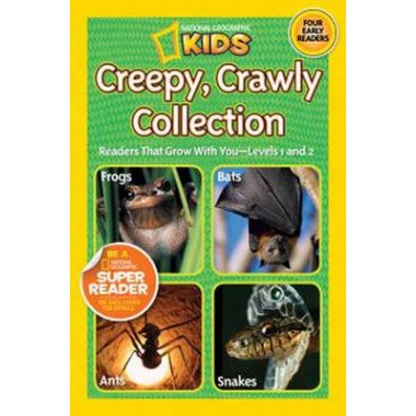 National Geographic Kids Readers: Creepy Crawly Collection