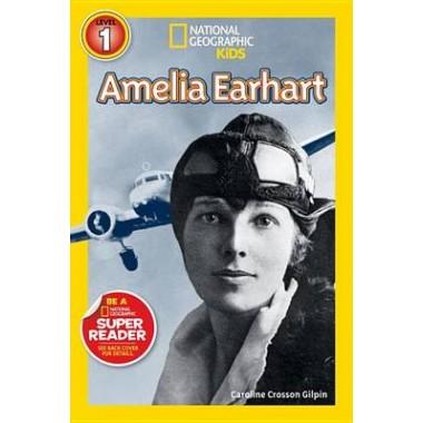 National Geographic Kids Readers: Amelia Earhart